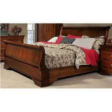 Louis Philippe Sleigh Bed with Louis Philippe 138 By West Brothers Town And Country Furniture