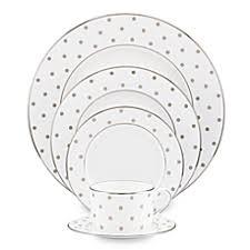 kate spade new york larabee road platinum dinnerware collection