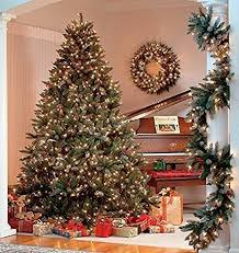 200 warm white christmas tree lights the christmas workshop 200 led pre lit frosted berry christmas tree