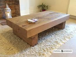 handmade coffee table large wood coffee table facil furniture