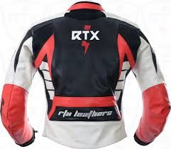 red motorcycle jacket raptor red motorcycle leather biker jacket