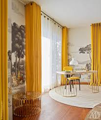 Striped Yellow Curtains Interesting Yellow And White Curtains And White And Yellow Striped
