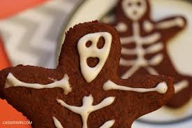 pieday friday u2013 chocolate gingerbread skeletons recipe for halloween