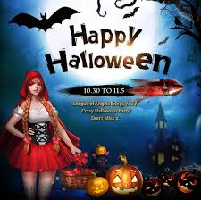 Halloween Costumes Angels Crazy Halloween Event Starts League Angels Browser Game 2p