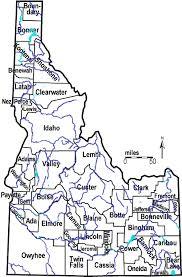 map us idaho idaho outline maps and map links