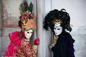 carnivale costumes carnevale di venetian daily mail online