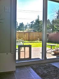 Vinyl Patio Pet Door Best Patio Door Door Jeld Wen 72 In X 80 In White Right