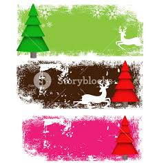 tree banners royalty free stock image storyblocks