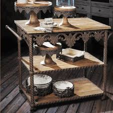 wrought iron kitchen island kitchen islands carts wrought iron furniture