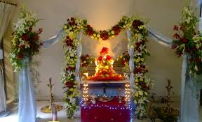 home flower decoration 10 simple yet beautiful ganpati decoration ideas for home