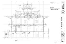 fastbid 3 fa sheng temple seattle wa plans sheet 1
