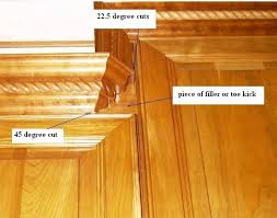how to cut crown molding for kitchen cabinets cabinet crown molding with bumped cabinets kitchen pinterest