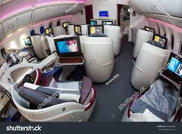 Boeing 787 Dreamliner Interior Dubai Uae November 11 2015 Qatar Stock Photo 402960826 Shutterstock