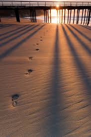 25 footsteps sand ideas