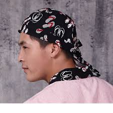 bandana cuisine japanese headscarf cuisine restaurant chef s hat japanese food