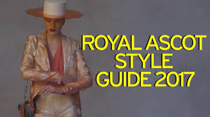 royal ascot 2017 dress code revealed and the jumpsuit has made
