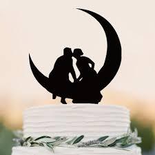 moon cake topper rustic wooden wedding bird cake toppers bird cakes bird