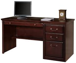 Cherry Computer Desk Hutch Huntington Club Cherry Series Cherry L Desk With Right Return