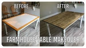 diy dining room table makeover farmhouse table edition youtube diy dining room table makeover farmhouse table edition