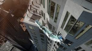 How Many Stories Is 1000 Feet La U0027s New Skyslide Is In Good Heart Attack Inducing Company Wired