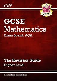 gcse maths aqa revision guide with online edition higher a g