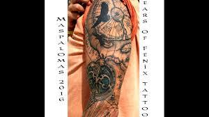 Map Tattoo Antique Map Tattoo Sleeve Gran Canaria 2016 Youtube