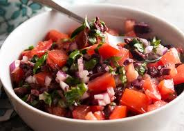 italian olives italian salsa with tomatoes capers and olives just a