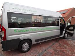 luxury minibus lincoln house and woodgate park gets new minibus castlemeadow care