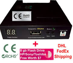 floppy drive to usb converter for okuma lathe free 4 gb flash