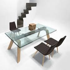 Table En Verre Avec Rallonges by Table Rectangulaire En Verre Toronto Arredaclick