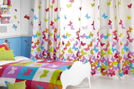 Butterfly Kids Room by Experience Kids Room Curtains For Rooms With Colorful Butterflies