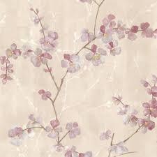 graham u0026 brown cherry blossom wallpaper 19887 the home depot