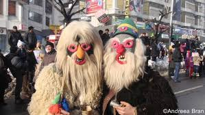 new year traditions in romania fictional characters and animal dances