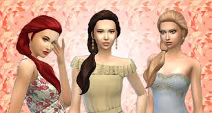 cc hair for sism4 my stuff sims 4 custom content and more