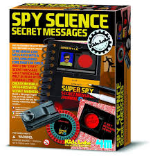 amazon com 4m spy science secret messages toys u0026 games