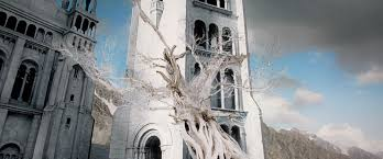 white tree of gondor they cut the power