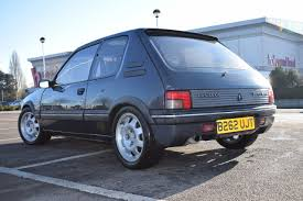 peugeot 205 gti 1985 peugeot 205 gti mi16 converted 4500 north london retro