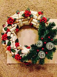 wine cork wreath decorating pinterest víno korek a vínové korky