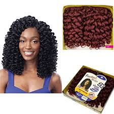 crochet hair freetress ringlet wand curl 2x synthetic braiding