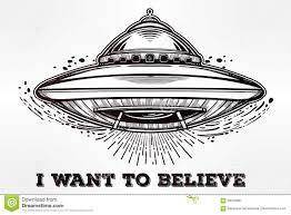 alien spaceship abduction ufo vector art stock vector image