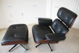 Chair W Ottoman Leather Chair And Ottoman Ebay
