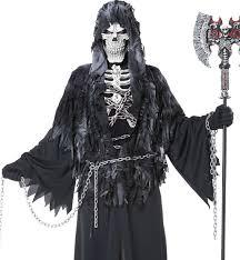 grim reaper costume angel of skeleton costume men s grim reaper costume