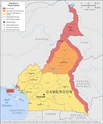 Map Of Cameroon Smartraveller Gov Au Cameroon