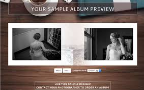 custom wedding photo album album panorama of rings and in philadelphia pa wedding
