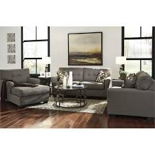 ashley tibbee 3 piece sofa set in slate 99101 38 35 15 pkg