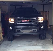 lifted gmc 2015 finally got my 2014 sierra all terrain lift on chevy truck