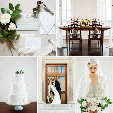 deco wedding modern deco wedding inspiration at the historic post office in