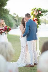 modern perth cocktail party wedding polka dot bride