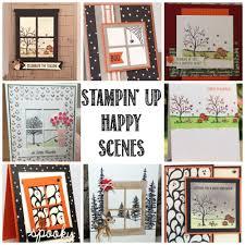 stampin up halloween stamps simple ideas for stampin u0027 up happy scenes stamp u0026 framelit