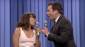 jimmy fallon and rashida jones slay another of
